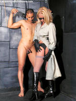 Girls In Leather Gloves